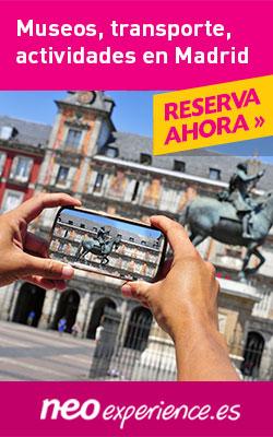 Reserva ahora Museos, transporte y actividades en Madrid