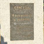 Foto Escultura homenaje Cerceda 1