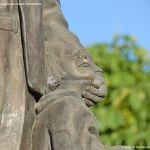 Foto Escultura homenaje Cerceda 4