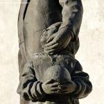 Foto Escultura homenaje Cerceda 5