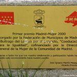 Foto Escultura Primer Premio Madrid-Mujer 2000 1