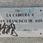 Foto Escultura La Cabrera a San Francisco de Asis 1