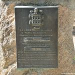 Foto Placa Pueblo de la Tierra de Segovia en Canencia 1