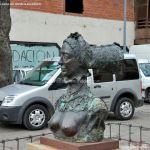 Foto Escultura en Villalba 3
