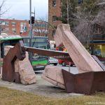 Foto Escultura Plaza de la Estación 2