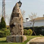 Foto Escultura homenaje en Colmenar del Arroyo 2