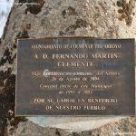 Foto Escultura homenaje en Colmenar del Arroyo 4
