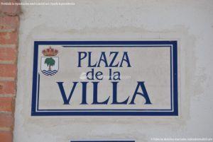 Foto Plaza de la Villa de Fuente el Saz de Jarama 1