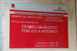 Foto Centro de Acceso Público a Internet de Hoyo de Manzanares 1