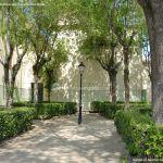 Foto Jardín de la Iglesia de Humanes de Madrid 2
