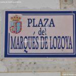 Foto Plaza del Marqués de Lozoya 1