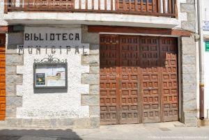 Foto Biblioteca Municipal de Manzanares el Real 2