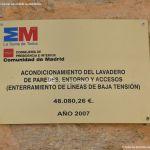 Foto Lavadero Municipal de Paredes de Buitrago 6
