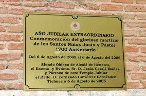 Foto Iglesia de los Santos Niños Justo y Pastor 4