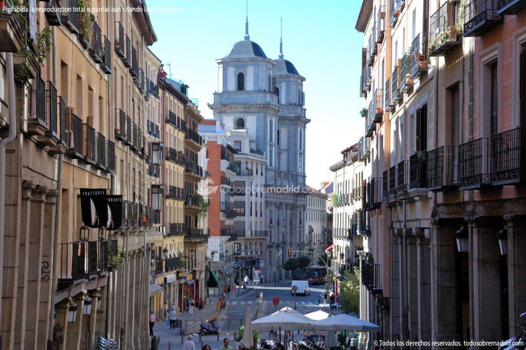 Foto Calle de Toledo junto a la Plaza Mayor de Madrid 1