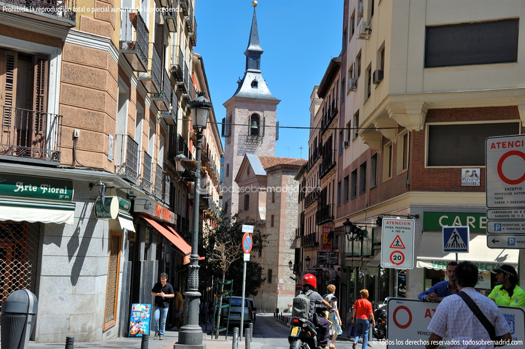Calle bordadores for Hotel calle arenal madrid