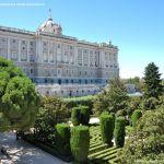 Foto Palacio Real. Jardines de Sabatini 3