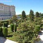 Foto Palacio Real. Jardines de Sabatini 5