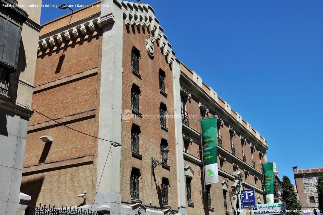 Foto caja de ahorros y monte de piedad de madrid 1 - Caja de arquitectos madrid ...