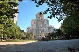 Foto Plaza de España de Madrid 9