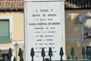 Foto Escultura Isabel II en Aranjuez 1