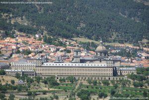 Foto San Lorenzo de El Escorial desde la Silla de Felipe II 1