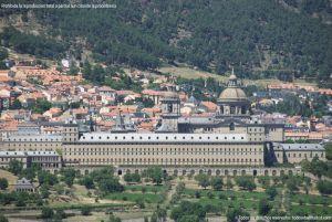 Foto San Lorenzo de El Escorial desde la Silla de Felipe II 2