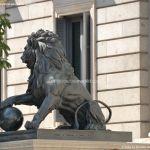 Foto Escultura Leones Congreso de los Diputados 1