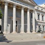 Foto Escultura Leones Congreso de los Diputados 3