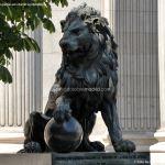Foto Escultura Leones Congreso de los Diputados 4