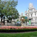 Foto Fuente en el Paseo del Prado 5