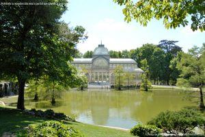 Foto Estanque Palacio de Cristal