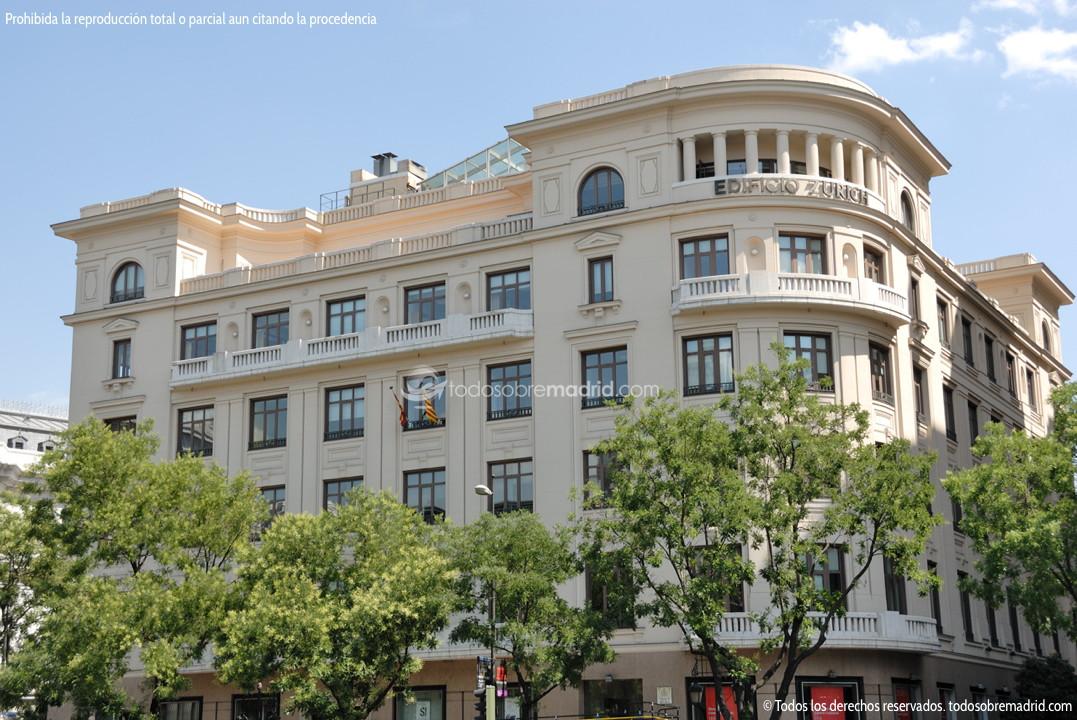 Edificio zurich for Edificio de la comunidad de madrid