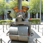 Foto Escultura Apisonadora MOP 13385 en Nuevos Ministerios 5