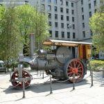 Foto Escultura Apisonadora MOP 13385 en Nuevos Ministerios 8
