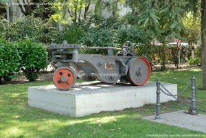 Foto Maquinaria ferroviaria en Nuevos Ministerios 6