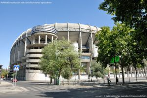 Foto Estadio Santiago Bernabeu 44