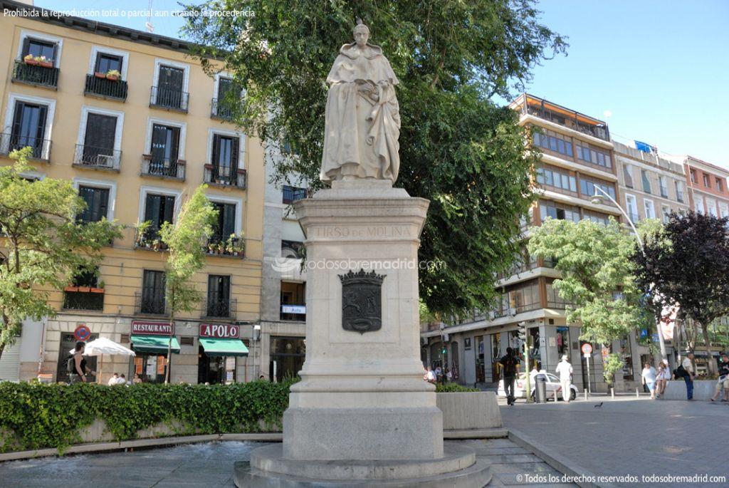 Foto Escultura Tirso de Molina 7