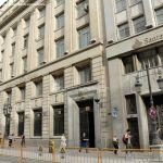 Foto Edificio Banco Santander en la Calle Alcalá 8