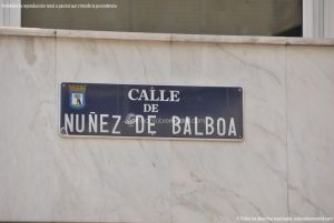Foto Calle de Nuñez de Balboa 2
