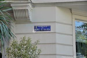 Foto Calle de Nuñez de Balboa 15