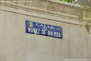 Foto Calle de Nuñez de Balboa 19