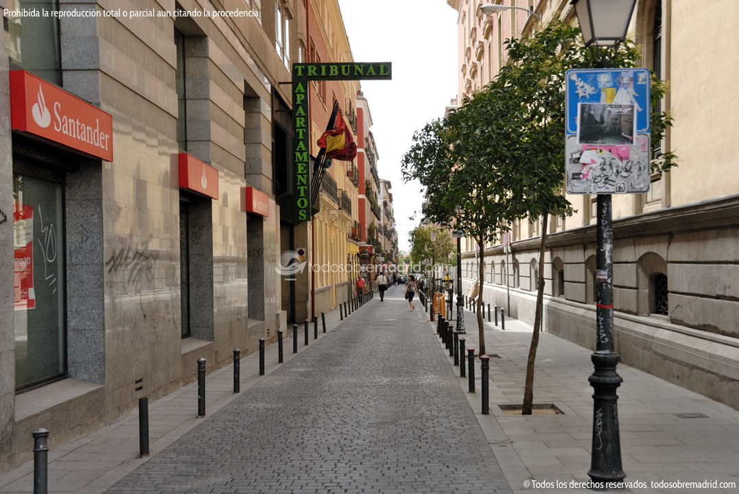 Foto Calle De San Vicente Ferrer De Madrid 2 Todosobremadrid Com