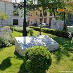 Foto Placa Escultura de la Unesco a Alcalá de Henares 6