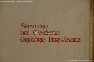 Foto Sepulcro del Canónigo Gregorio Fernández 1