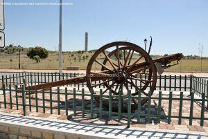 Foto Antigua maquinaria agrícola de Navas del Rey 4