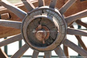 Foto Antigua maquinaria agrícola de Navas del Rey 6