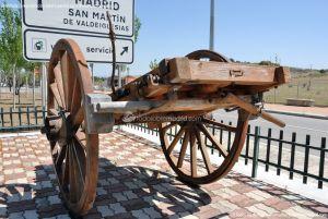 Foto Antigua maquinaria agrícola de Navas del Rey 8