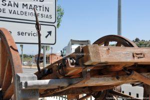 Foto Antigua maquinaria agrícola de Navas del Rey 9
