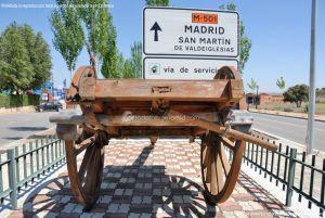 Foto Antigua maquinaria agrícola de Navas del Rey 10